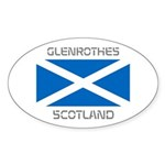 Glenrothes Scotland Sticker (Oval 50 pk)