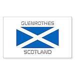 Glenrothes Scotland Sticker (Rectangle 50 pk)