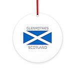 Glenrothes Scotland Ornament (Round)