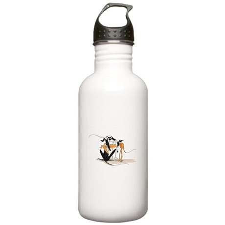 A Jumble of Hounds Sports Water Bottle