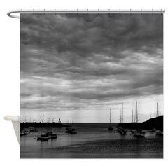 Not Today Sailboats Shower Curtain