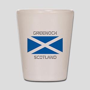 Greenock Scotland Shot Glass