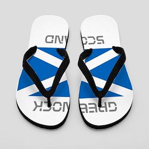 Greenock Scotland Flip Flops
