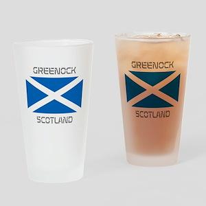 Greenock Scotland Drinking Glass