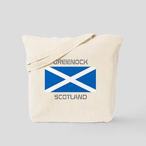 Greenock Scotland Tote Bag