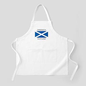Greenock Scotland Apron