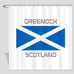 Greenock Scotland Shower Curtain