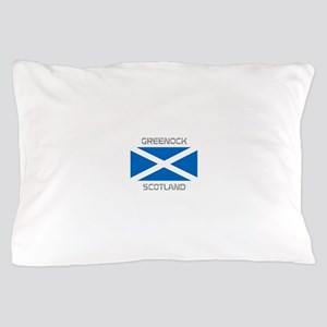 Greenock Scotland Pillow Case