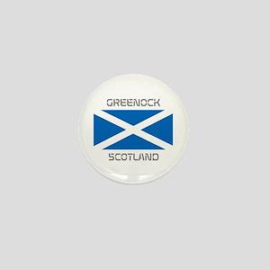 Greenock Scotland Mini Button