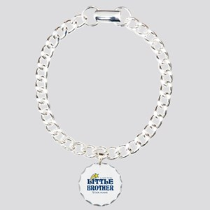 I am the Little Brother Charm Bracelet, One Charm