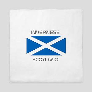 Inverness Scotland Queen Duvet