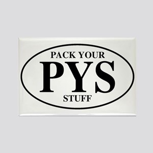Pack Your Stuff Rectangle Magnet