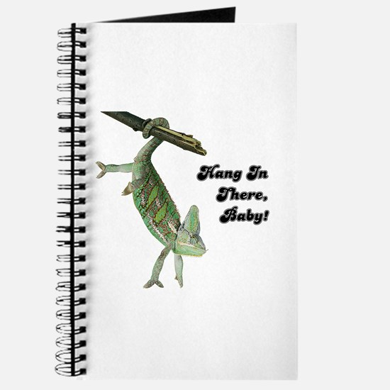 Hang In There Chameleon Journal