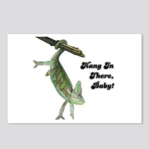 Hang In There Chameleon Postcards (Package of 8)