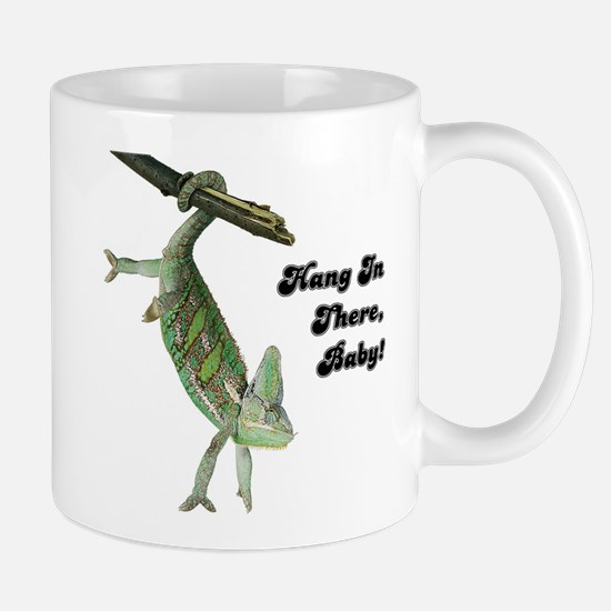 Hang In There Chameleon Mug