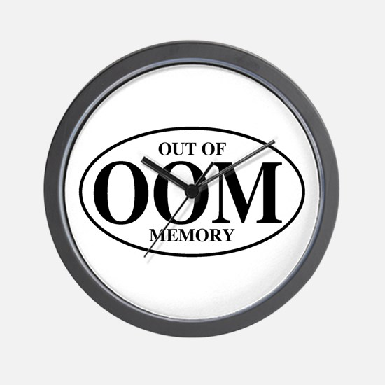 Out Of Memory Wall Clock