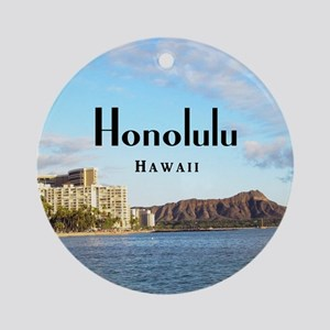 Honolulu Ornament (Round)