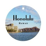 Honolulu Ornament (Round)