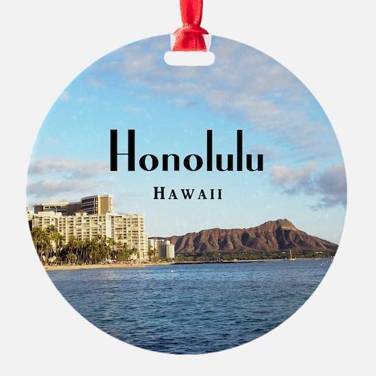 Honolulu Ornament