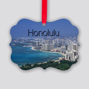 Honolulu Picture Ornament