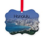 Honolulu Picture Ornament