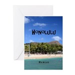 Honolulu Greeting Cards (Pk of 20)