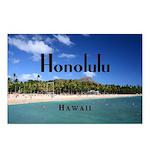 Honolulu Postcards (Package of 8)