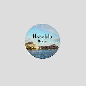 Honolulu Mini Button