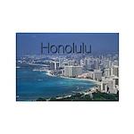Honolulu Rectangle Magnet (10 pack)