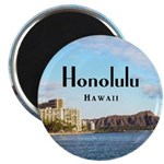 "Honolulu 2.25"" Magnet (100 pack)"