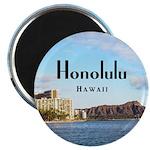 "Honolulu 2.25"" Magnet (10 pack)"