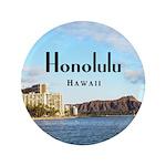 "Honolulu 3.5"" Button (100 pack)"