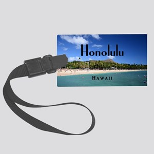 Honolulu Large Luggage Tag