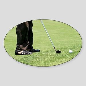 Golf Feet Sticker (Oval)