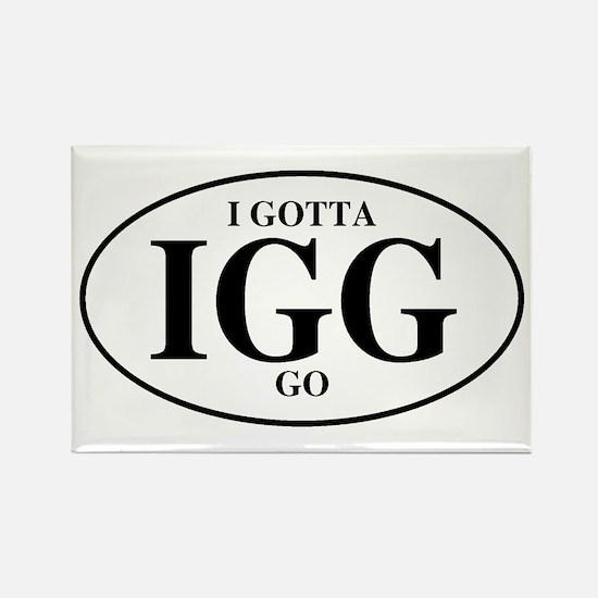 I Gotta Go Rectangle Magnet (10 pack)