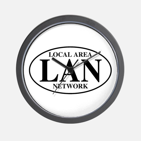 Local Area Network Wall Clock