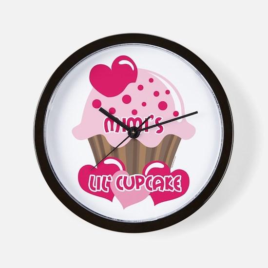 Mimi's Lil' Cupcake Wall Clock