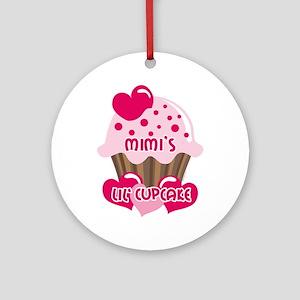 Mimi's Lil' Cupcake Ornament (Round)