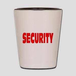 SECURITY Shot Glass