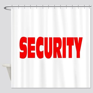 SECURITY Shower Curtain