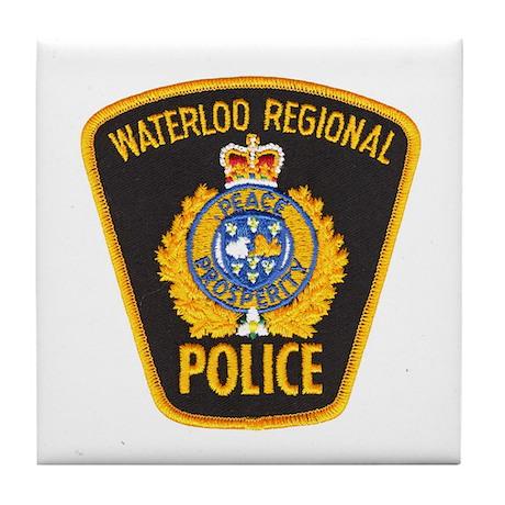 Waterloo Police Tile Coaster