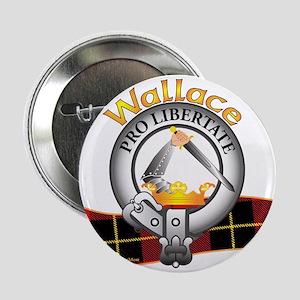 "Wallace Clan 2.25"" Button"