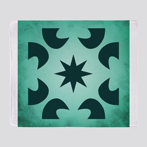 STAR - MALACHITE Throw Blanket