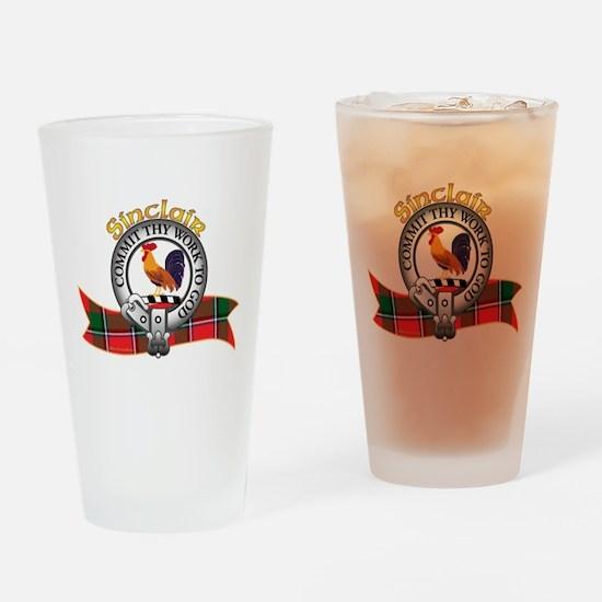 Sinclair Clan Drinking Glass