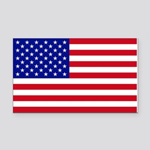 5 X 3 USA Flag - Rectangle Car Magnet