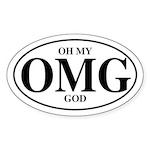 Fun TLA Oval Sticker