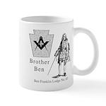Ben Franklin Lodge No. 83 Mug