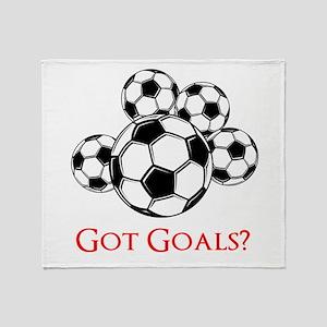 Got Goals Throw Blanket