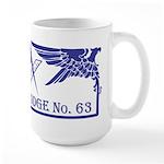 Masonic Waterloo Lodge Wisconsin Large Mug