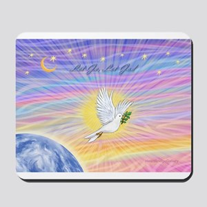 Let Go-Dove-World Mousepad